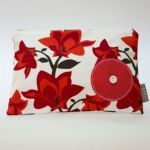 BABY by Danish - Red Bloom Wipes Bag